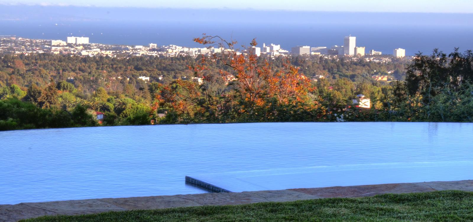Pacific Palisades Vanishing Edge Pool Design By John