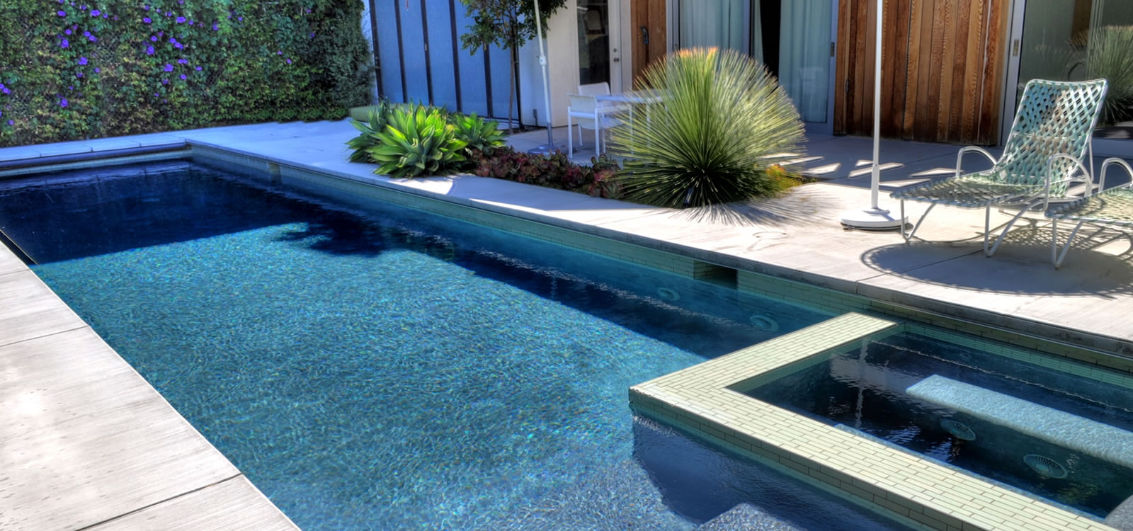 Venice pool spa design custom tile by john crystal pools for Pool design los angeles