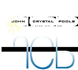 swimming pool logo design. John Crystal Pools Los Angeles Pool Designer Logo Swimming Design